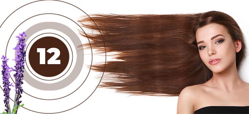 12 трав для ухода за волосами
